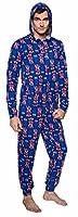Doctor Who One Piece Tardis British Flag Adult Pajamas