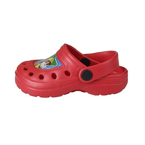 Paw Patrol - Sabot Crocs- Bambino Tg 26/27 Rosso