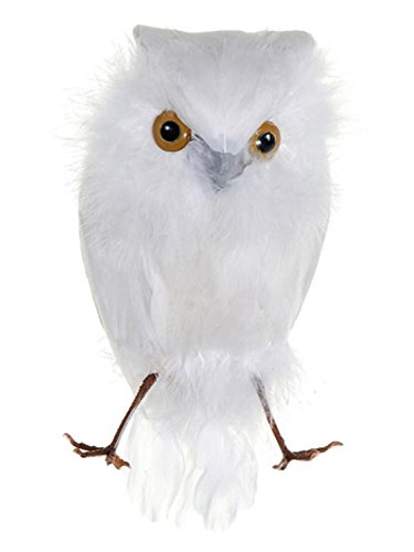 allstate-white-feathered-decorative-snow-owl-bird-figure-65
