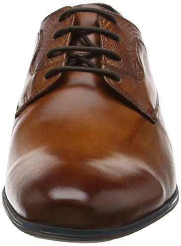 Daniel Hechter 811120011100 - Zapatos de cordones derby Hombre Marrón - Braun (cognac 6300)