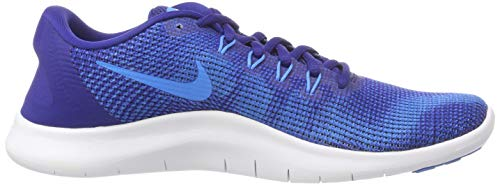 Blue Scarpe Uomo Hero Run Flex Nike White Multicolore Laufschuh 2018 001 Blue Herren Deep Royal Running 4CqngwH