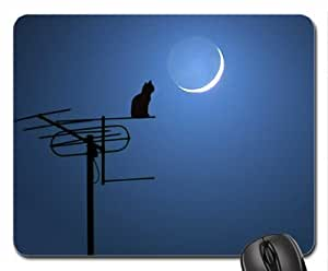 At night Mouse Pad, Mousepad (Cats Mouse Pad)