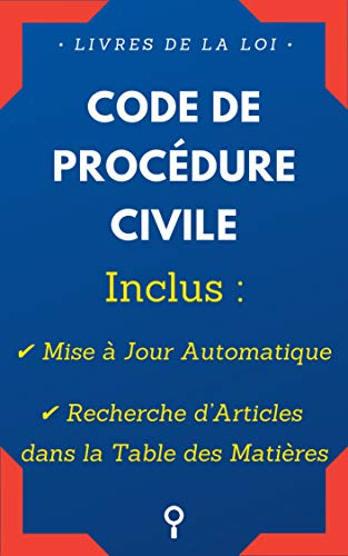 Amazon Com Code De Procedure Civile Inclus Mise A Jour