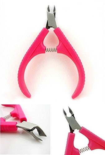 1 Pcs Spruce Popular Hot Nail Cuticle Nipper Clipper Handy Manicure Cabinet Tool Pedicure Cleaner Stainless Steel Color Pink - Collection Barcelona Spice