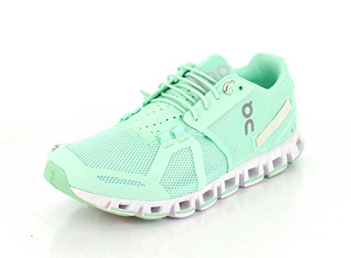 ON Damen Running Cloud Sneaker Jade