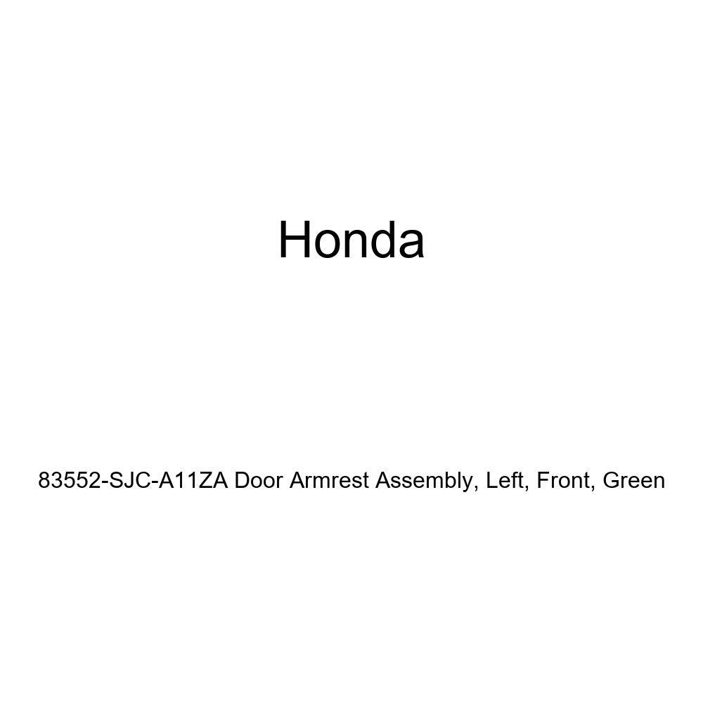 Honda Genuine 83552-SJC-A11ZA Door Armrest Assembly Green Front Left