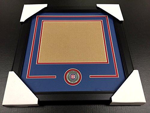 CHICAGO CUBS Medallion Frame Kit 8x10 Photo Double Mat HORIZONTAL -