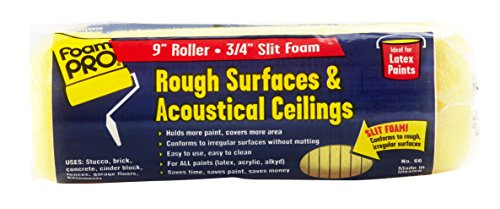 FOAM PRO 00066 9-Inch X 3/4-Inch Rough Coater Slit Foam