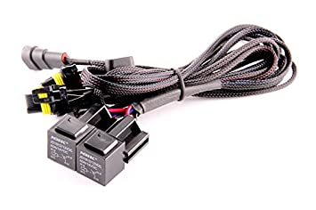 414KdQT9s5L._SX355_ amazon com ddm tuning heavy duty dual relay hid harness ddm wiring harness at n-0.co
