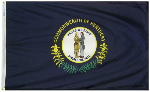 Annin Flagmakers Model 141960 Kentucky State Flag 3x5 ft. Ny
