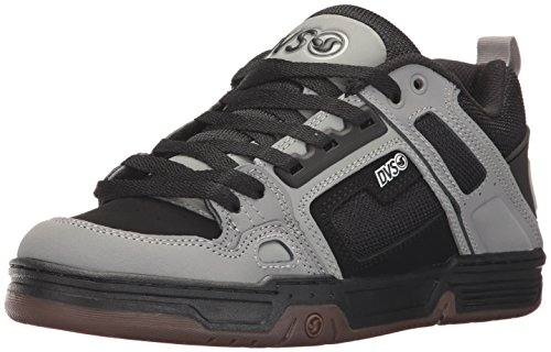 DVS Men's Comanche Skate Shoe, Black/Grey Nubuck, 8 Medium US by DVS