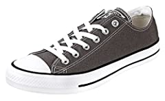 The iconic, timeless chuck taylor all star sneaker. Perfect in its simplicity since 1917. Lightweight, breathable canvas construction. Vulcanized rubber sole delivers durable traction. An ortholite insole cushions each and every step. Versati...