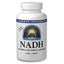 ENADA NADH 10 mg pepermint sublingual Source Naturals, Inc. 20 Tabs