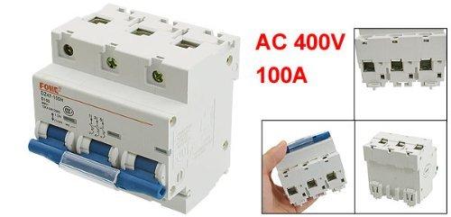 eDealMax AC 400V 100A 3 Pole 3P Protezione sovraccarico miniatura Circuit Breaker