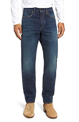 (rag & bone Men's Fit 2 Slim Fit Japanese Denim Jeans (32, Worn Ace))