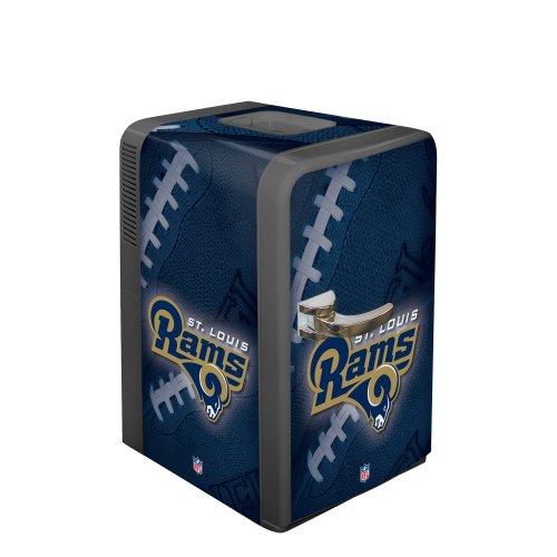 NFL St. Louis Rams Portable Party Fridge, 15 - Louis Outlets St