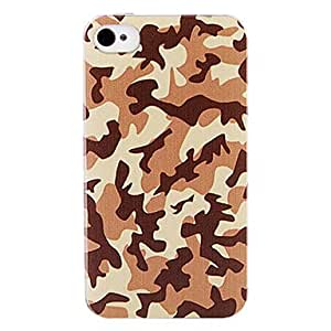 Camouflage Color Back Case for iPhone 4/4S
