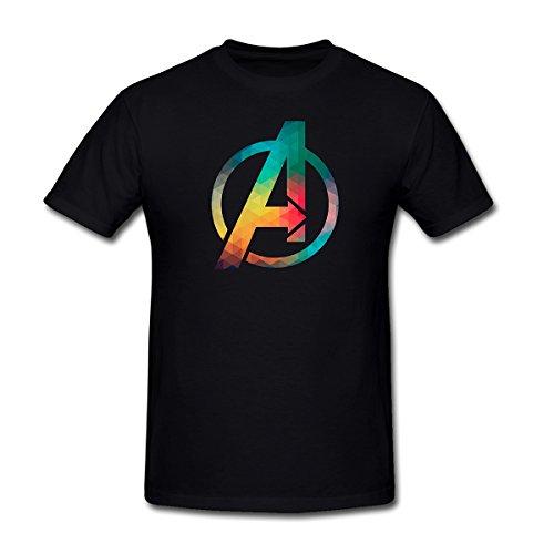 Rugrats Go Wild Games (Drong Men's Avengers Classic A Logo T-Shirt XXXL Black)