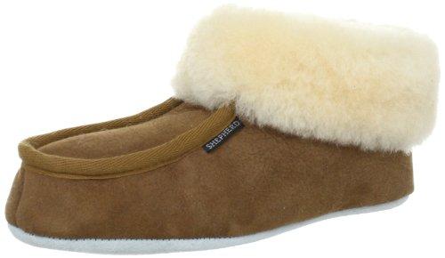 Shepherd MOA 724 - Zapatillas de casa para mujer Marrón (Chestnut 56)