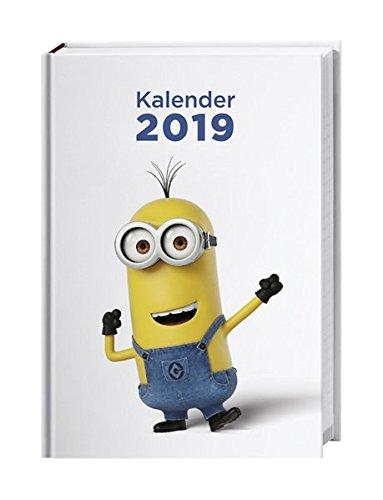 Minions Schülerkalender A6 - Kalender 2019: 17 Monate von August 2018 bis Dezember 2019.