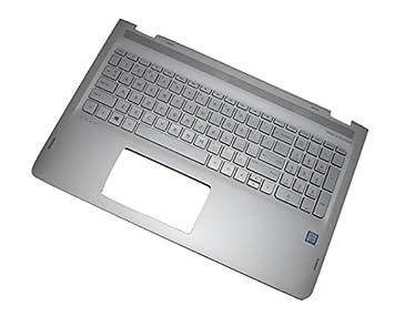 HP 857283-041 Carcasa inferior con teclado refacción para ...