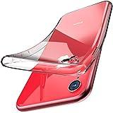 TOZO for iPhone XR Case 6.1 Inch (2018) Premium Clear Soft TPU Gel Ultra-Thin [Slim Fit] Transparent Flexible Cover for iPhone XR [Clear Gel]