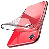 TOZO for iPhone XR Case 6.1 Inch (2018) Premium Clear Soft TPU Gel Ultra-Thin [Slim Fit] Transparent Flexible Cover for iPhone XR [Clear Gel]