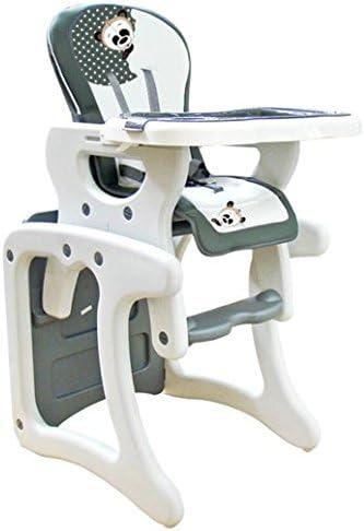 Trona para bebé convertible en mesa y silla, modelo panda gris ...