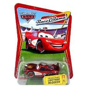 Disney / Pixar CARS Movie 1:55 Die Cast Car Series 4 Race-O-Rama Radiator Springs Lightning (Race O-rama Radiator Springs)