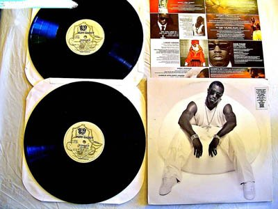 Diddy/Puff Daddy Double LP Forever - Bad Boy Records 1999 - Near Mint Vinyl - Original Insert - Nas - Lil' Kim - Jay-Z - Busta Rhymes (Puffy Inserts)