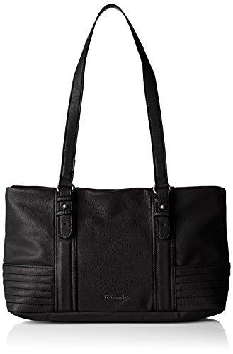 Tamaris Damen Crizia Shoulderbag Schultertaschen, Schwarz (Black 001), 32x20x10 cm