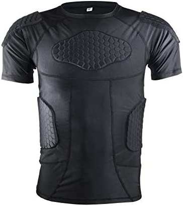 Compression Shirt Short Protective Protector Basketball product image