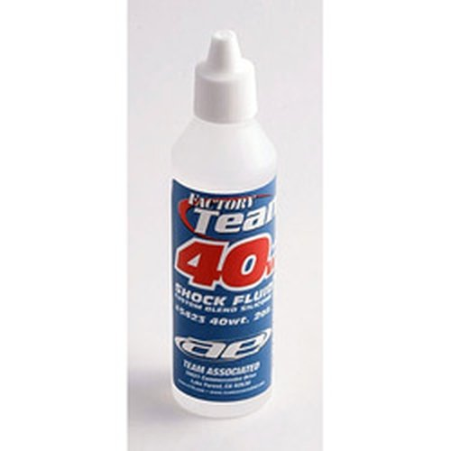 Silicone Shock Oil - Team Associated 5423 40 Weight Silicone Shock Oil, 2-Ounce
