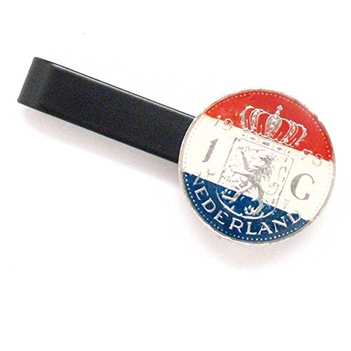 Netherlands Coin Tie Bar Clip