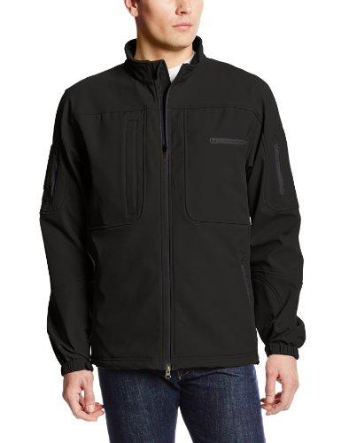 (Propper Men's BA Softshell Jacket, Black, X-Large)