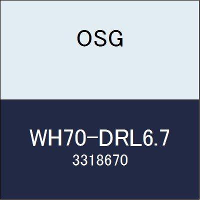 OSG 超硬ドリル WH70-DRL6.7 商品番号 3318670