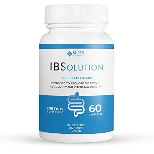 IBS Treatment by IBSolution | All-Natural Relief For Symptoms of Irritable Bowel Syndrome Including Bloating, Constipation, Gas, Diarrhea, and Abdominal Pain | Supports Digestive Health | 60 Capsules (Best Treatment For Gas Pain)