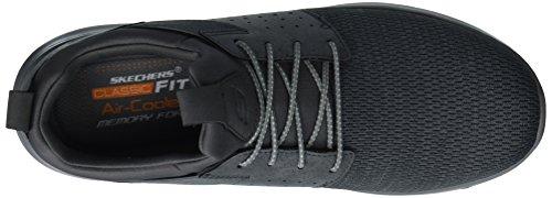Skechers Delson-Camben, Sneaker Uomo Grau