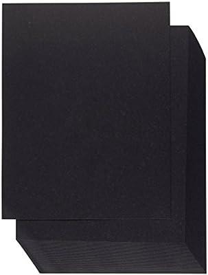 Papel de cartulina – 60 unidades 8,5 x 11 tamaño de carta para ...