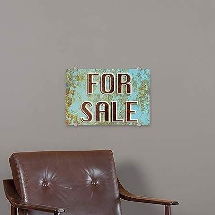 CGSignLab 16x16 Modern Block Premium Acrylic Sign No Dog Pooping