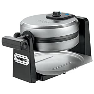 Waring Pro WMK200 Belgian Waffle Maker, Stainless Steel/Black [DISCONTINUED]