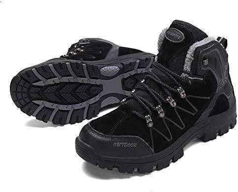 ハイキングシューズ メンズ 防水 防滑 トレッキングシューズ 耐磨耗 登山靴 アウトドア キャンプ シューズ 通気性 スエード 透湿 ハイカットスエード スニーカー 大きいサイズ ハイカット