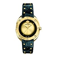 Deals on Versace Shadov Quartz Champagne Dial Ladies Watch