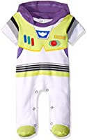 Disney TYM4609 Pijama Entero para Bebés, color Blanco, 3