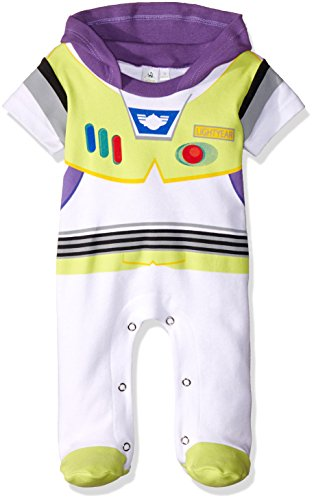 Disney TYM4609 Pijama Entero para Bebés, color Blanco, 3