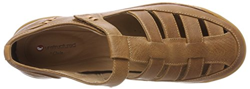 Clarks Women's Un Haven Cove Casual Shoes Brown (Dark Tan Lea) ZoF6W