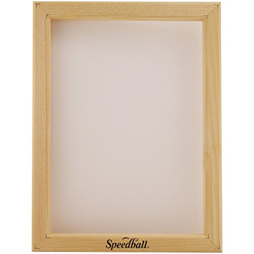Speedball 10 Monofilament Screen Printing Frame, 10-Inch-by-14-Inch ()