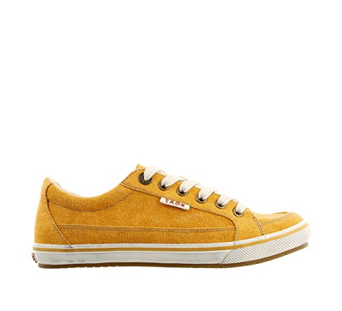 Sneaker Taos Star Women's Yellow Moc Footwear Washed Canvas wnqBR7vxS