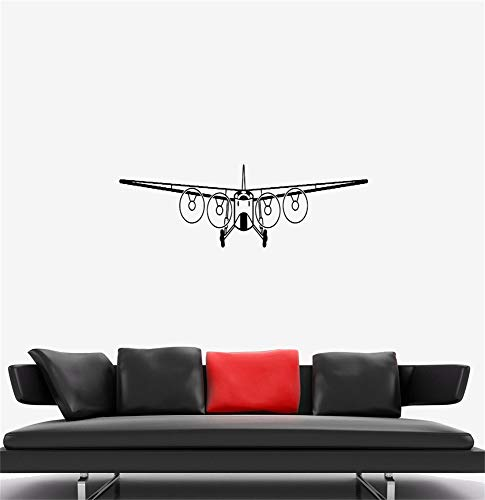 ckreat Quote Mirror Decal Quotes Vinyl Wall Decals Aircraft Flight Air Plane Ship - Francisco Wood Mirror