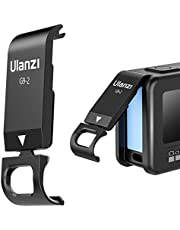 ULANZI G9-2 batterijvak deksel afneembare laadaansluiting adapter aluminium compatibel met GoPro Hero 9 en GoPro Hero 10 Black